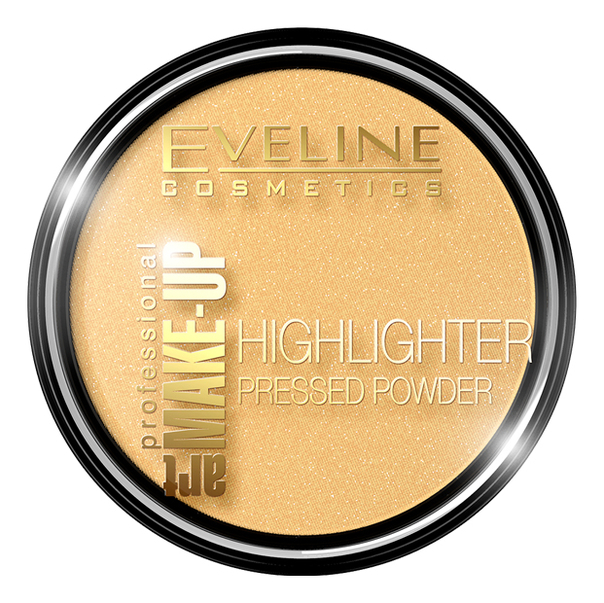 Осветляющая пудра для лица Art Professional Make-Up Highlighter Pressed Powder 12г: No 55 Golden