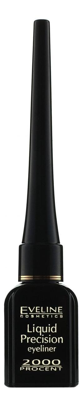 Фото - Водостойкая подводка для глаз Liquid Precision Eyeliner 2000 Procent 4мл подводка маркер для глаз masterpiece high precision liquid eyeliner 1мл 20 azure