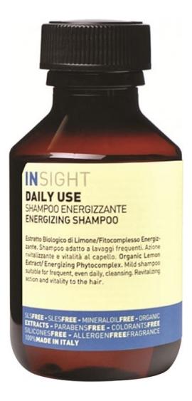 Купить Шампунь для волос с экстрактом лимона Daily Use Energizing Shampoo: Шампунь 100мл, INSIGHT