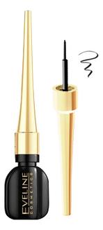 Фото - Водостойкая подводка для глаз Celebrities Eyeliner 3мл: Черный подводка для глаз matte signature eyeliner 3мл 03 каштановый