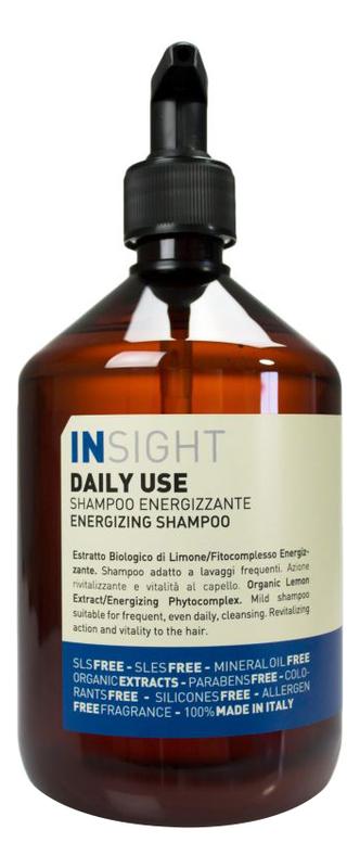 Купить Шампунь для волос с экстрактом лимона Daily Use Energizing Shampoo: Шампунь 400мл, INSIGHT