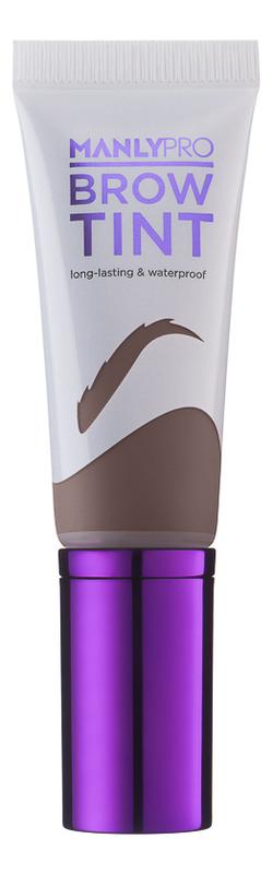 Гелево-кремовый тинт для бровей Brow Tint 12мл: ET04 Серо-коричневый гель тинт для бровей mybelline brow satin коричневый 02 5 г
