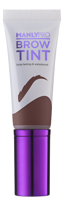 Гелево-кремовый тинт для бровей Brow Tint 12мл: ET02 Нейтральный теплый коричневый гель тинт для бровей mybelline brow satin коричневый 02 5 г
