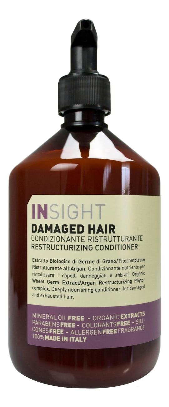 Купить Кондиционер для поврежденных волос Damaged Hair Restructurizing Conditioner: Кондиционер 400мл, INSIGHT