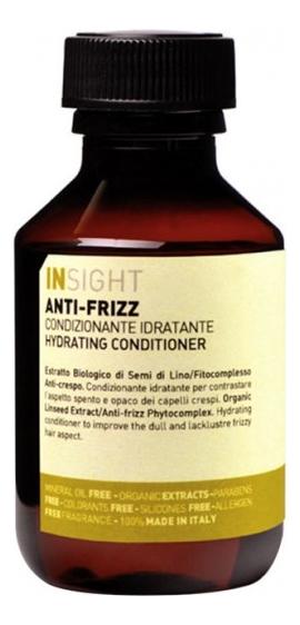 Разглаживающий кондиционер для волос с экстрактом семени льна Anti-Frizz Hydrating Conditioner: Кондиционер 100мл
