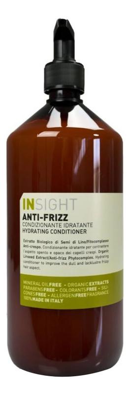 Разглаживающий кондиционер для волос с экстрактом семени льна Anti-Frizz Hydrating Conditioner: Кондиционер 900мл