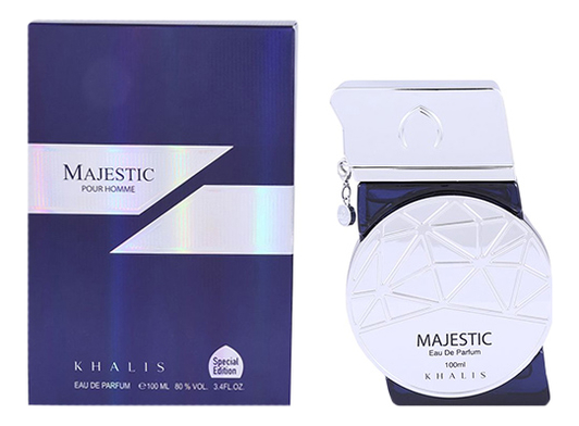 khalis frline awesome pour homme парфюмерная вода мужская 100 мл Majestic Pour Homme: парфюмерная вода 100мл