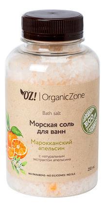 Соль для ванн Марокканский апельсин Bath Salt 250мл: Соль 250мл соль для ванн остров свежести bath salt соль 1000мл