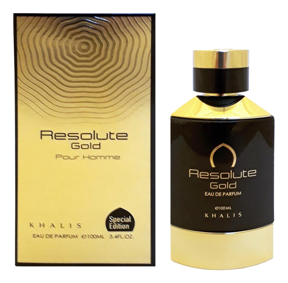 khalis frline awesome pour homme парфюмерная вода мужская 100 мл Resolute Gold Pour Homme: парфюмерная вода 100мл