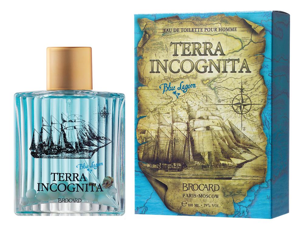 Купить Terra Incognita Blue Lagoon: туалетная вода 100мл, Brocard