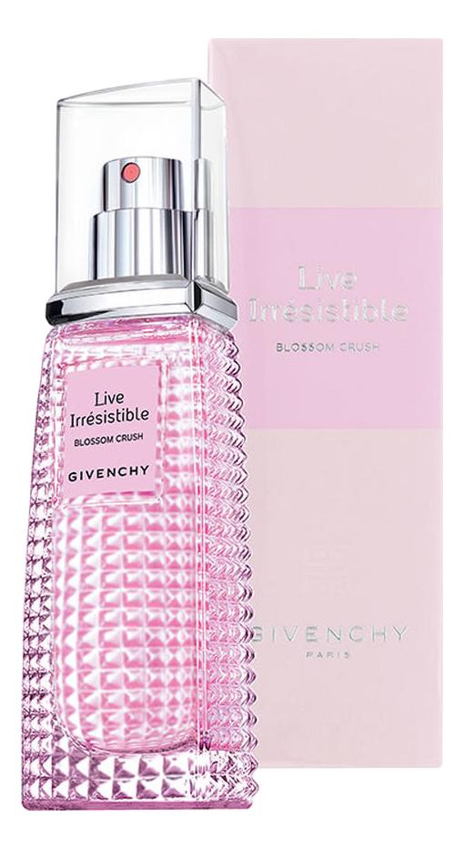Givenchy Live Irresistible Blossom Crush: туалетная вода 30мл  - Купить
