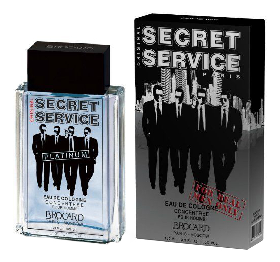 Brocard Secret Service Platinum: одеколон 100мл brocard secret service original одеколон 100мл