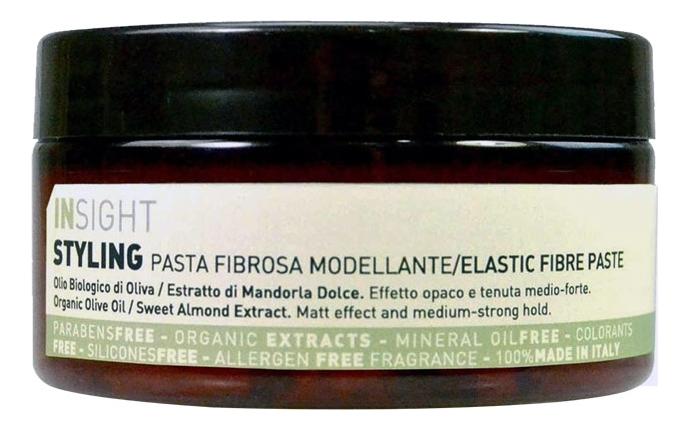 Купить Моделирующая паста для волос с маслом оливы Styling Elastic Fibre Paste 90мл, INSIGHT