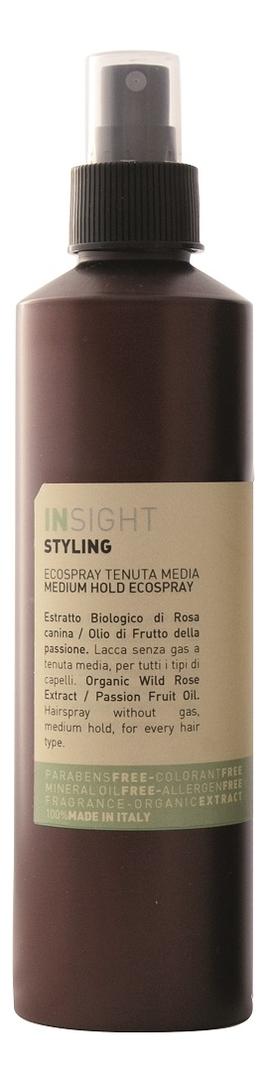 Купить Лак для волос Styling Medium Hold Ecospray 250мл, INSIGHT