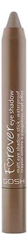 Водостойкие тени-карандаш для век Forever Matt 1,5г: 10 Светло-коричневый тени для век матовые eyeshadow matt 0 8г 524 dark grey mocha