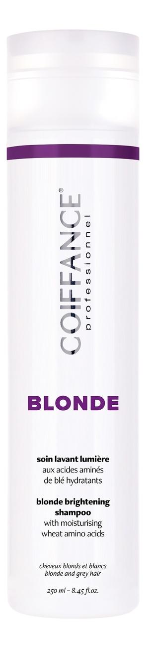 Шампунь для придания блеска светлым и мелированным волосам Blond Brightening Shampoo 250мл: Шампунь 250мл