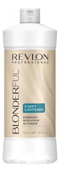 Активатор для краски Blonderful 5 Soft Lightener Energizer 900мл осветлитель для волос soft lightener 5 minutes lightening cream 50мл