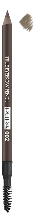Фото - Карандаш для бровей True Eyebrow Pencil 1,08г: 002 Brown pupa карандаш true eyebrow pencil оттенок 003 dark brown