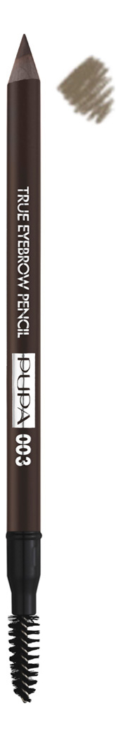 avant scene карандаш для бровей темно коричневый eyebrow pencil dark brown 1 3 гр Карандаш для бровей True Eyebrow Pencil 1,08г: 003 Dark Brown