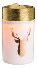 Candle Warmers Аромасветильник Round Illum-Golden Stag