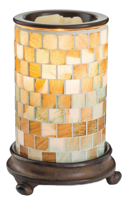 Аромасветильник Glass Mosaic Warmer Sea Glass dress 0122341 63