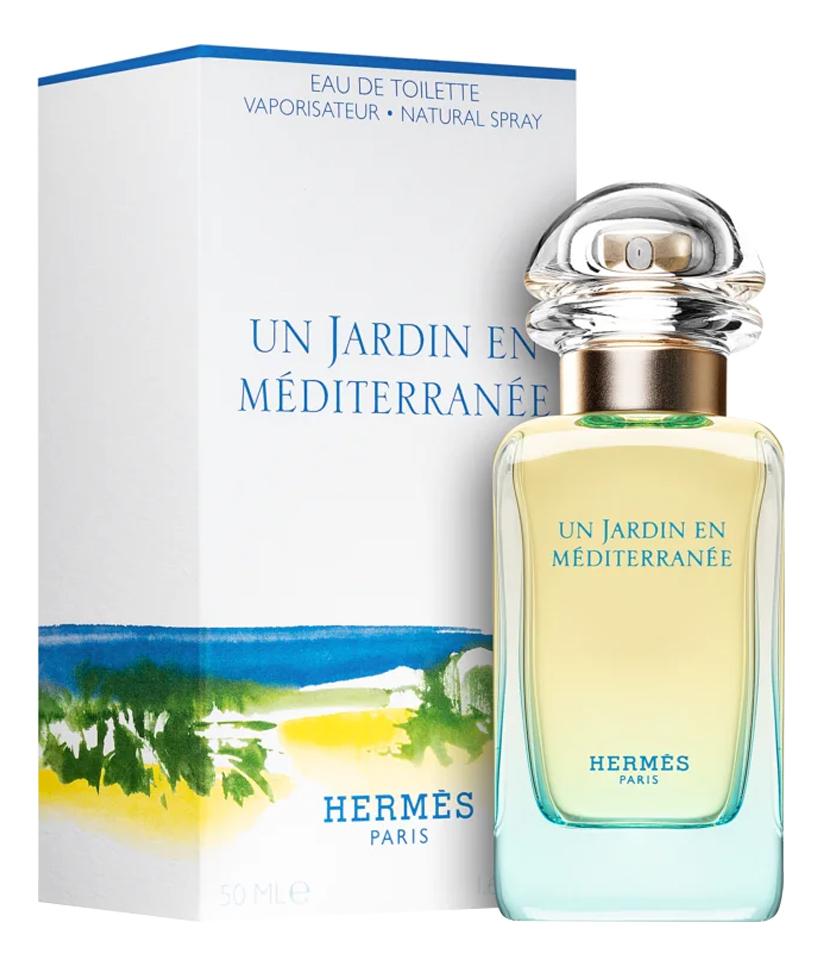 Hermes Un Jardin En Mediterranee: туалетная вода 50мл hermes туалетная вода un jardin apres la mousson женская 50 мл