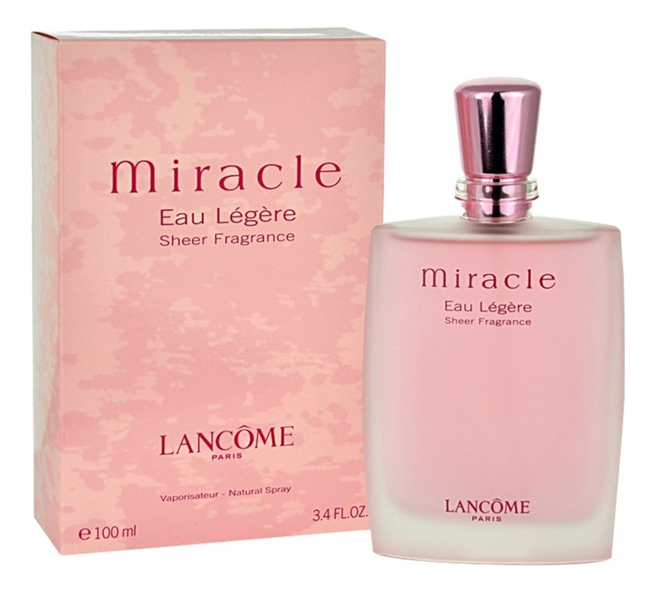 Miracle Eau Legere Sheer Fragrance: туалетная вода 100мл недорого
