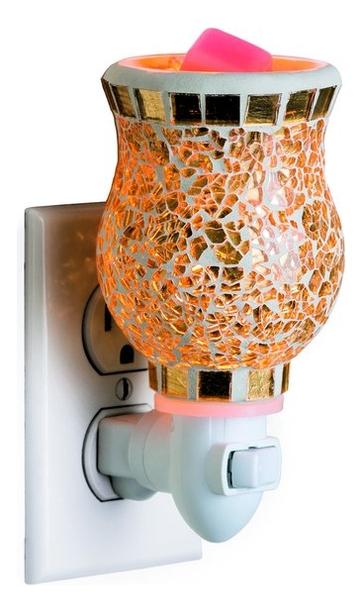 Аромасветильник Plug in-Gilded Glass
