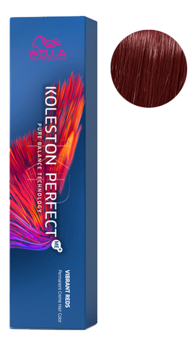 Фото - Стойкая крем-краска для волос Koleston Perfect Color Vibrant Reds 60мл: 44/55 Спелая вишня стойкая крем краска для волос koleston perfect color vibrant reds 60мл 77 46 пурпурная муза