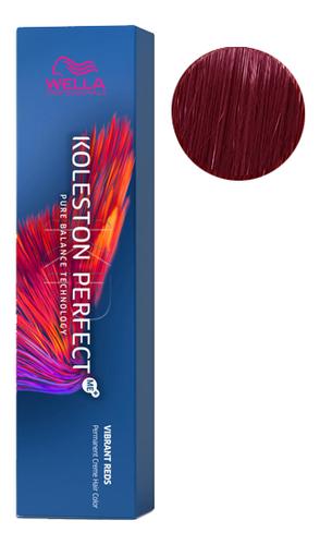 Фото - Стойкая крем-краска для волос Koleston Perfect Color Vibrant Reds 60мл: 55/65 Коррида стойкая крем краска для волос koleston perfect color vibrant reds 60мл 77 46 пурпурная муза