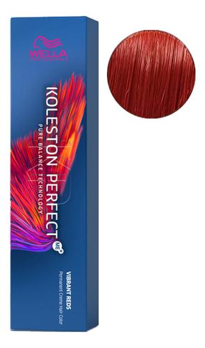Стойкая крем-краска для волос Koleston Perfect Color Vibrant Reds 60мл: 77/44 Вулканический красный краска для волос без аммиака color touch vibrant reds 60мл 6 47 красный гранат