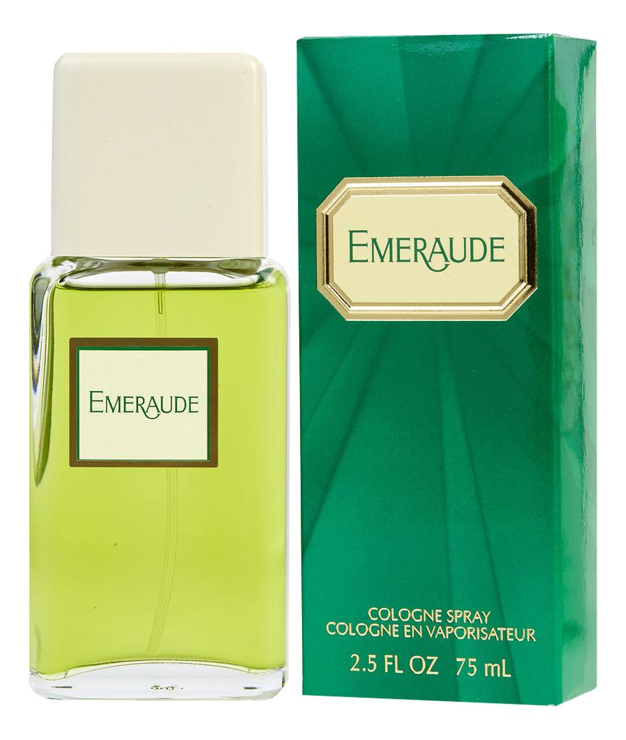 Emeraude: одеколон 75мл недорого