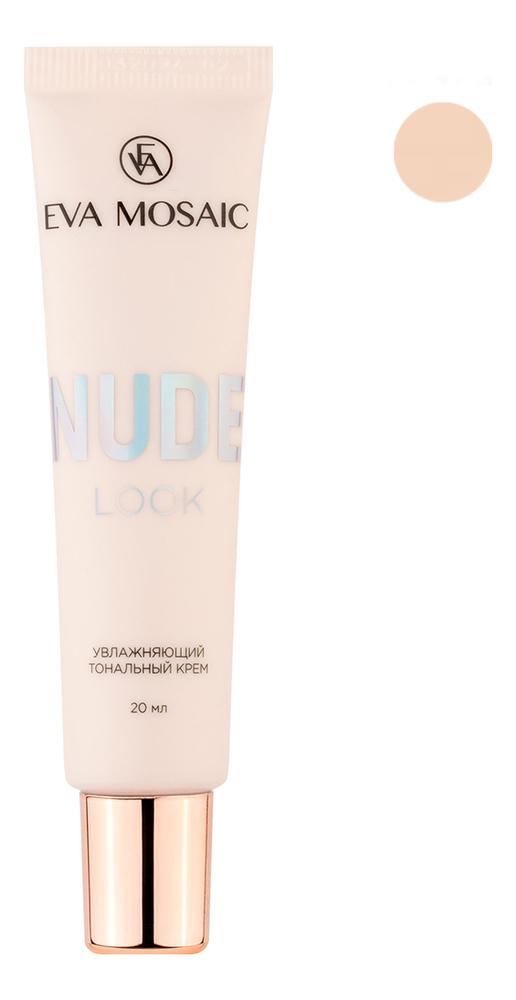 Купить 01 Слоновая кость, Увлажняющий тональный крем для лица Nude Look 20мл, Eva Mosaic