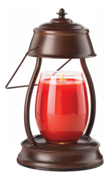 Электрический фонарь Hurricane lamp-Rustic Brown