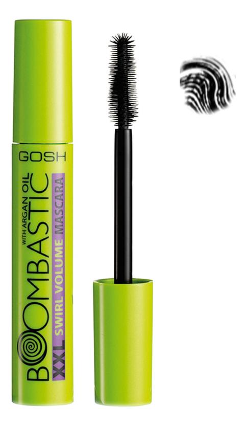 gosh boom boombastic volume mascara Тушь для ресниц Boombastic XXL Swirl Volume Mascara 13мл: 002 угольно-черная