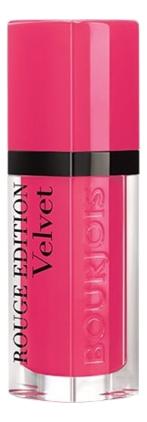 Купить Бархатный флюид для губ Rouge Edition Velvet 7, 7мл: 34 Belle Amourose, Bourjois