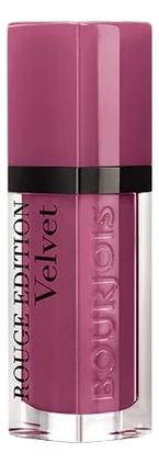 Купить Бархатный флюид для губ Rouge Edition Velvet 7, 7мл: 36 In Mauve, Bourjois