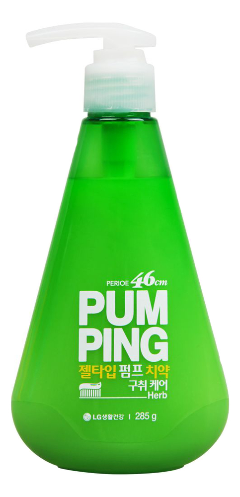 Зубная паста освежающая Pum Ping Breath Care Pumping Toothpaste 285г