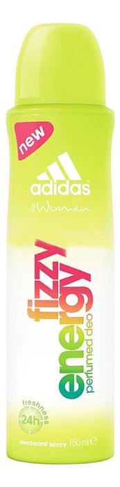 Парфюмерный дезодорант-спрей Fizzy Energy Perfumed Deo Deodorant Sprey 150мл: дезодорант 150мл benetton colours purple дезодорант 150мл