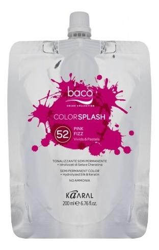 Купить Полуперманентный краситель для волос Colorsplash Vivids & Pastels 200мл: 52 Pink Fizz, Полуперманентный краситель для волос Colorsplash Vivids & Pastels 200мл, KAARAL