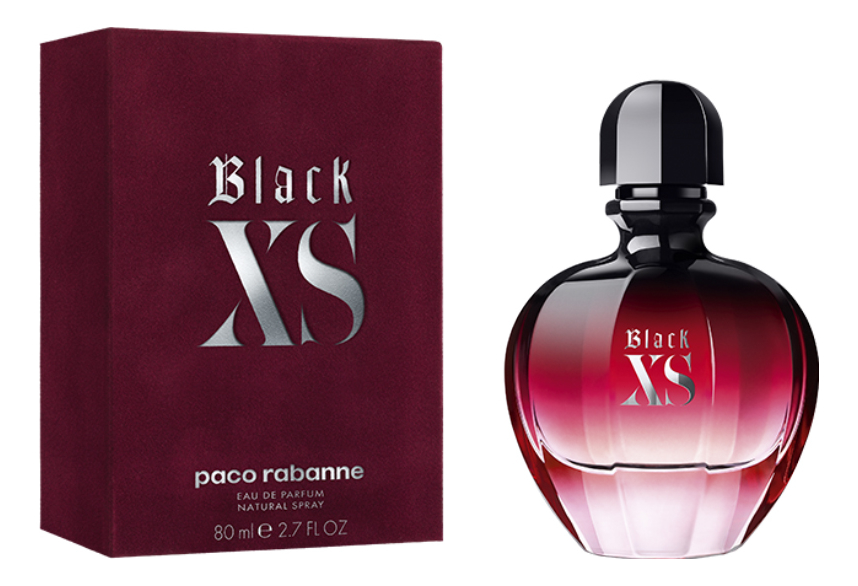 Paco Rabanne Black XS For Her 2018: парфюмерная вода 80мл