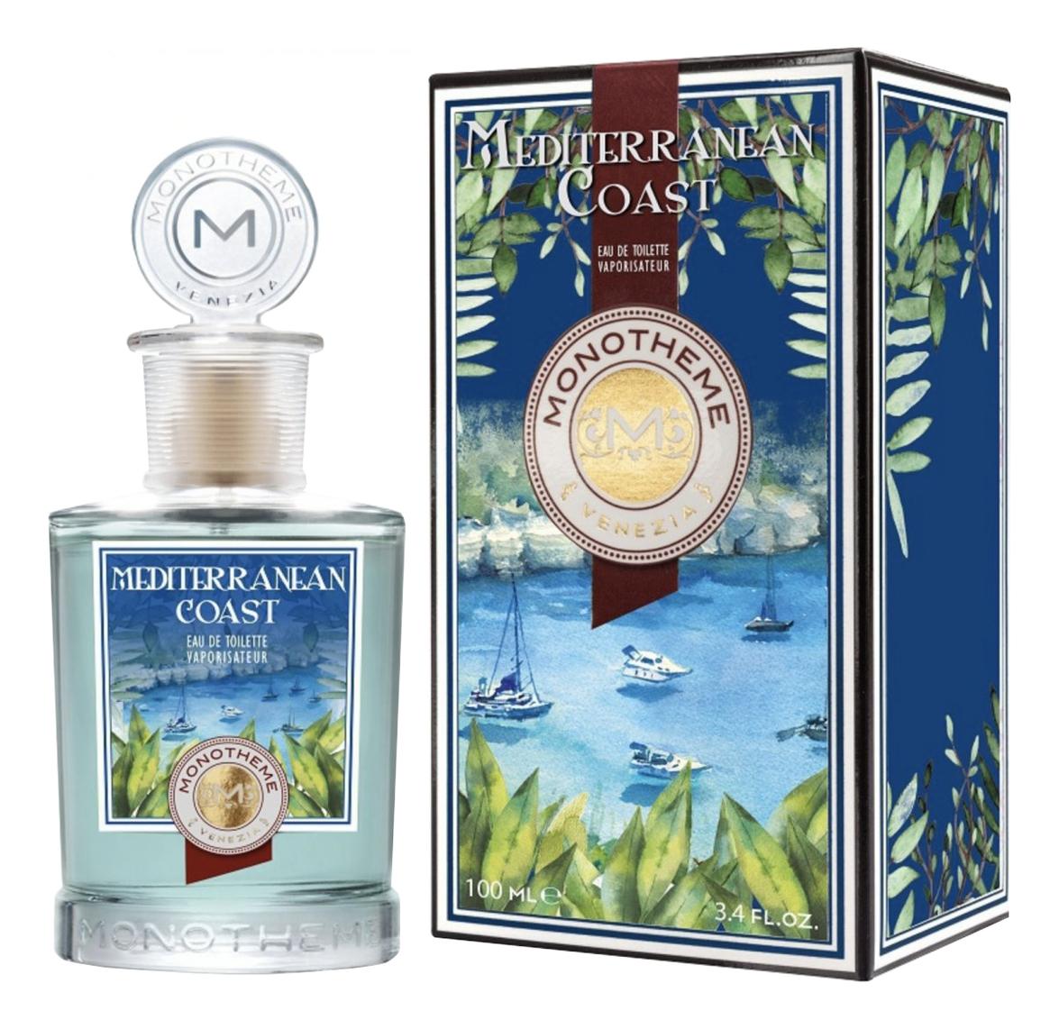 Купить Mediterranean Coast: туалетная вода 100мл, Monotheme Fine Fragrances Venezia
