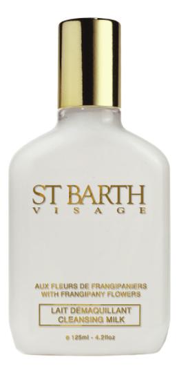 Купить Очищающее молочко для лица Visage Lait Demaquillant Aux Fleurs De Frangipanier 125мл, Ligne ST Barth