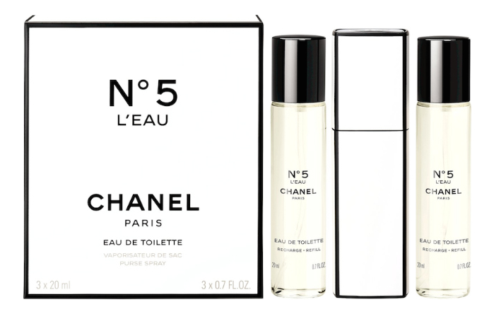 No5 L'Eau: туалетная вода 3*20мл