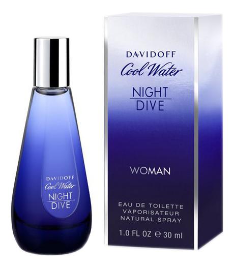 Купить Cool Water Night Dive Woman: туалетная вода 30мл, Davidoff