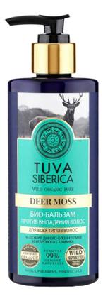 Био-бальзам для волос против выпадения Tuva Siberica Deer Moss 300мл