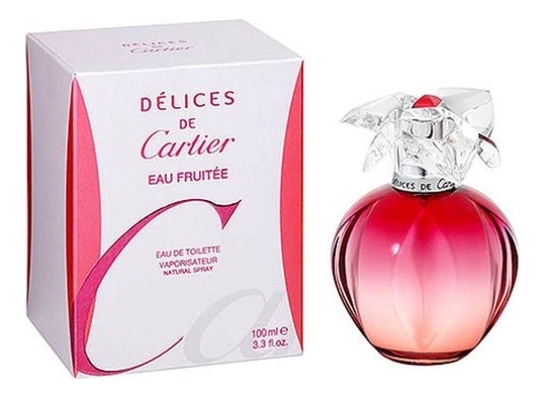 Delices De Cartier Eau Fruitee: туалетная вода 100мл cartier declaration туалетная вода 100мл