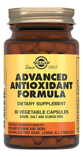 Биодобавка Антиоксидантная формула Advanced Antioxidant Formula: 30 капсул