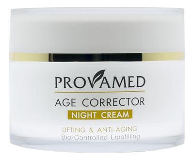 Купить Антивозрастной ночной крем для лица Age Corrector Night Cream Lifting & Anti-Aging 50мл, Антивозрастной ночной крем для лица Age Corrector Night Cream Lifting & Anti-Aging 50мл, Provamed