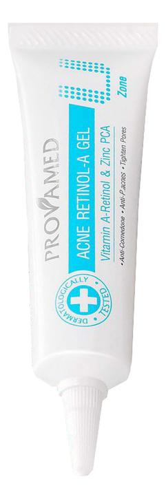 Купить Гель для лица против угревой сыпи с витамином А Acne Retinol-A Gel 10мл, Provamed